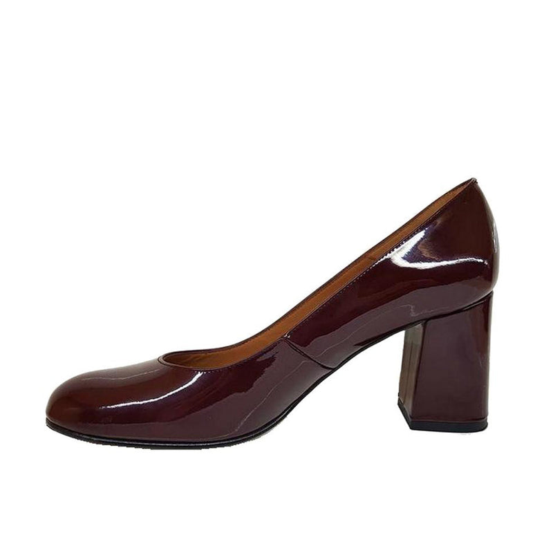 VIVA Red Bordeaux Leather Patent