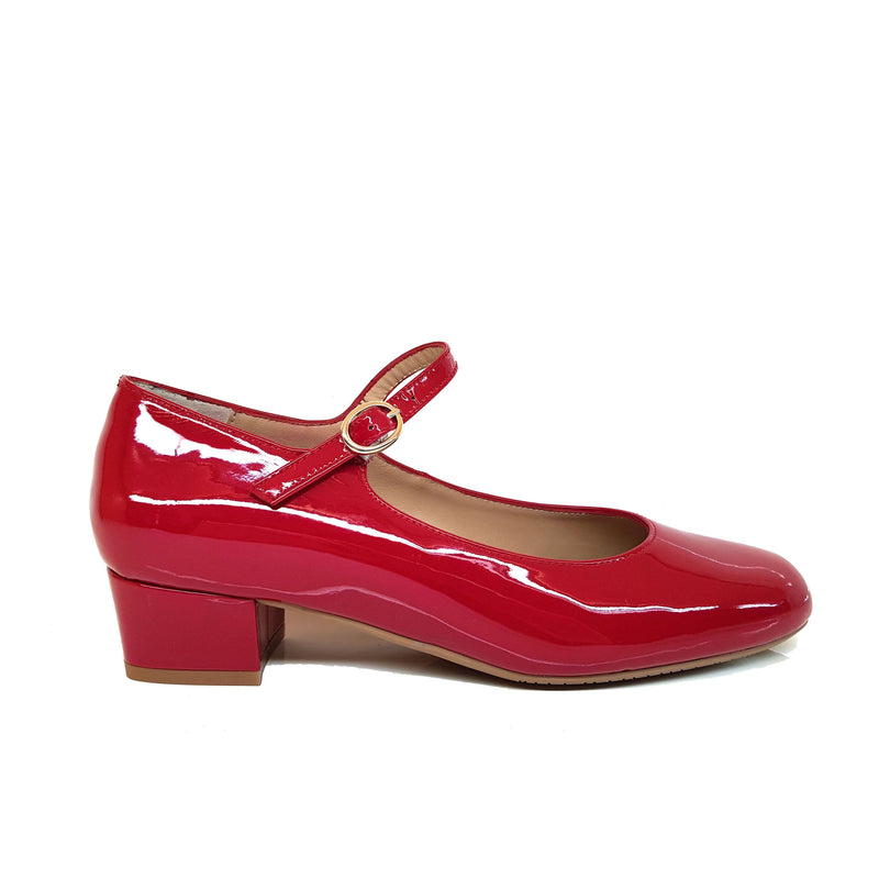 AMERCE Red Patent Leather