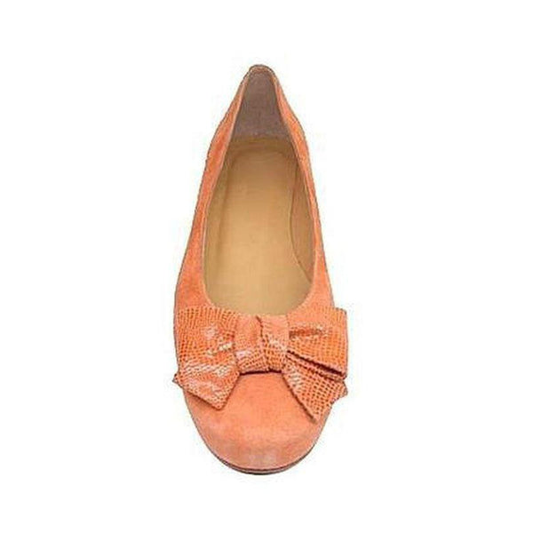 CACUA Apricot Orange Leather Suede