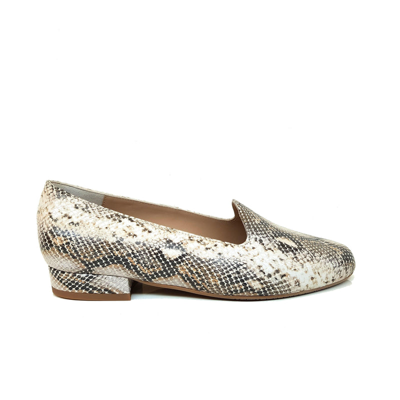CEONLISO Rattlesnake Print Leather