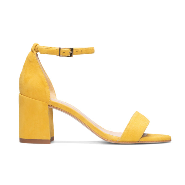 DIOSA Mustard Leather Suede