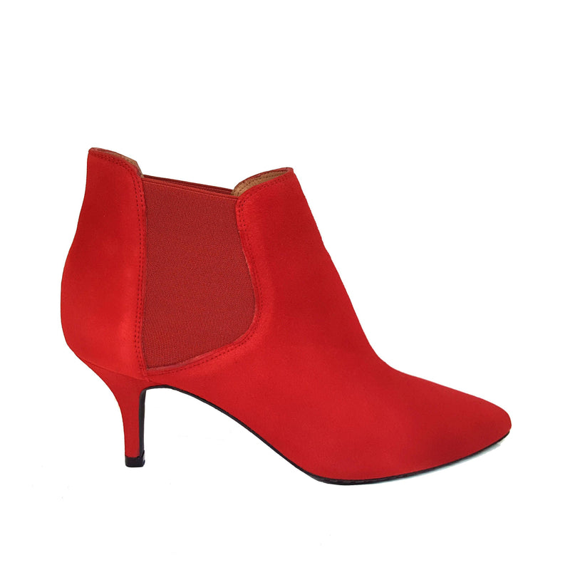 ILIRIO Red Leather Suede
