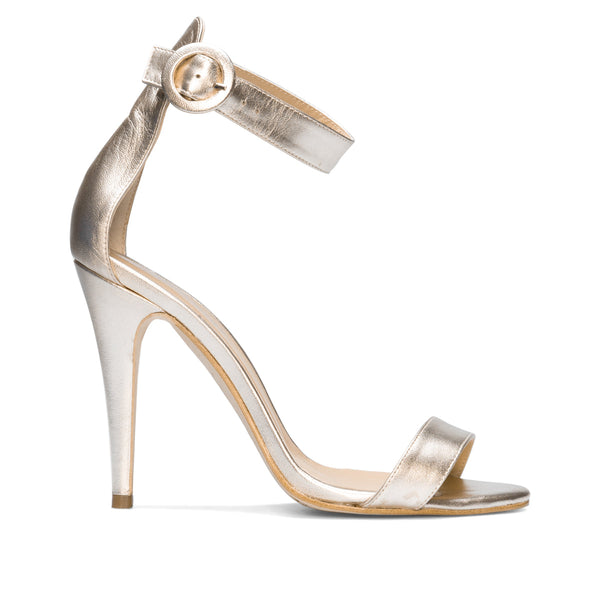 NALA Gold Platinum Leather Nappa Metal