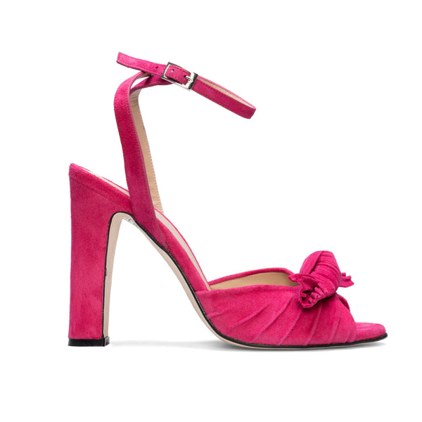 NEUS Pink Leather Suede
