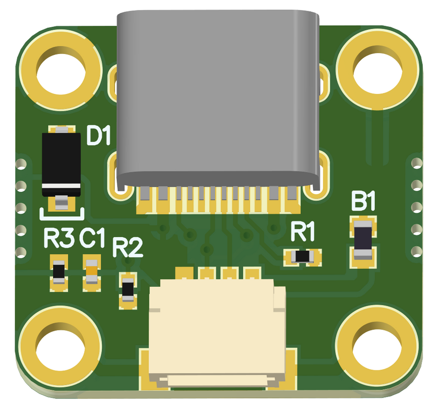 USB C Daughterboard - Coming Soon