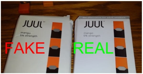 How To Distinguish Between Fake Juuls And Real Juuls?