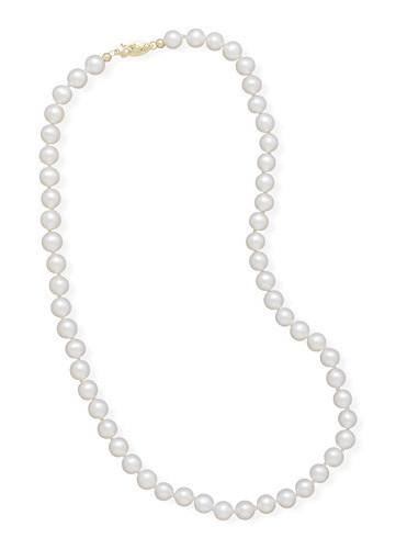 "20"" 5.5-6mm Cultured Freshwater Pearl Necklace"