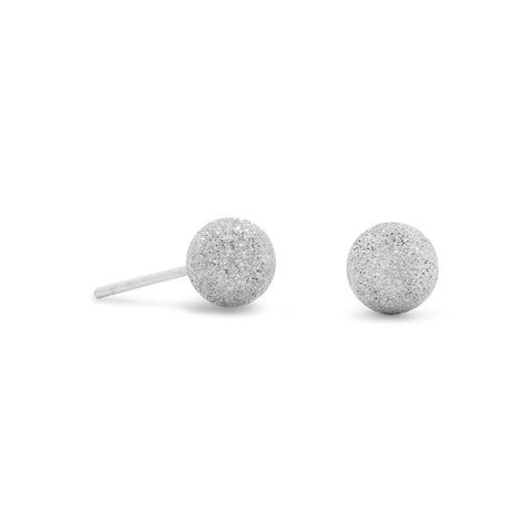 Stardust Ball Post Earrings