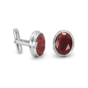 Corundum Cuff Links
