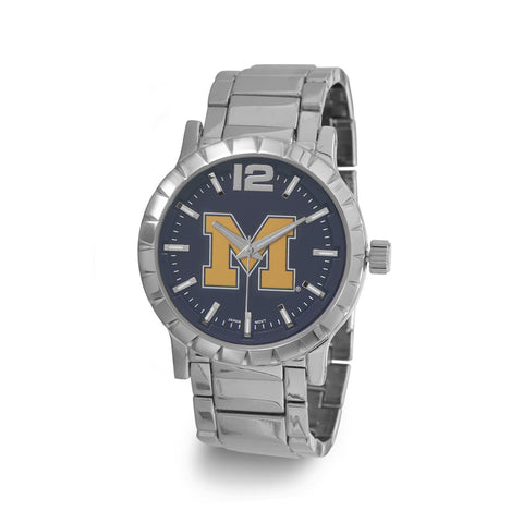 Collegiate Licensed University of Michigan Men's Fashion Watch