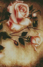 An Old Rose DIY 5D Diamond Painting Cross Stitch