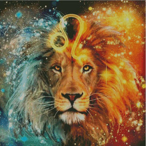 Astrological Signs #1 Aquarius to Leo DIY 5D Diamond Painting Cross Stitch