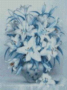 Flower #2 DIY 5D Diamond Painting Cross Stitch