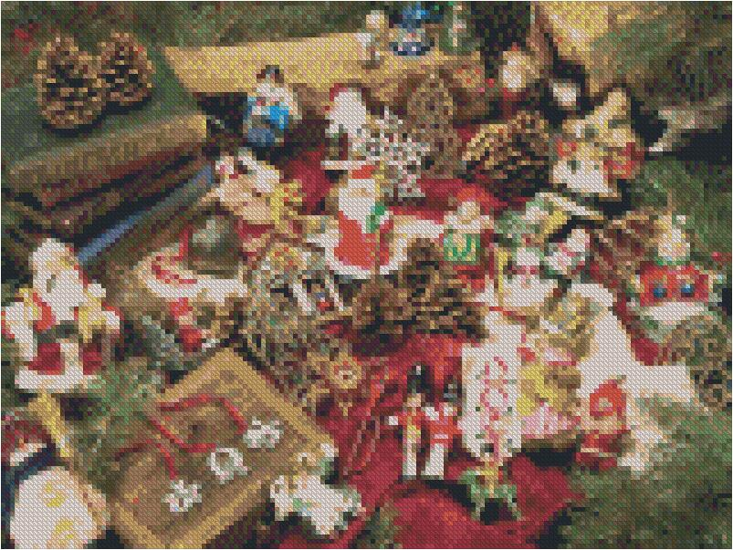 Ornaments #4 DIY 5D Diamond Painting Cross Stitch