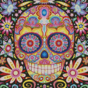 Sugar Skull #3 DIY 5D Diamond Painting Cross Stitch