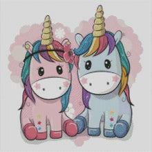 BFF Unicorns DIY 5D Diamond Painting Cross Stitch