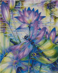 Dragonfly DIY 5D Diamond Painting Cross Stitch