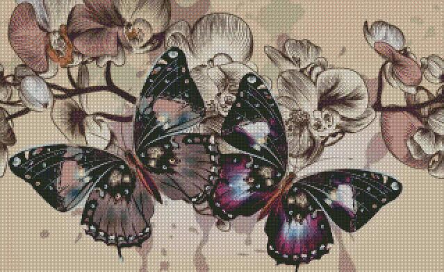 Butterfly #9 DIY 5D Diamond Painting Cross Stitch