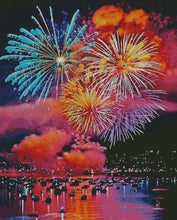 Fireworks DIY 5D Diamond Painting Cross Stitch