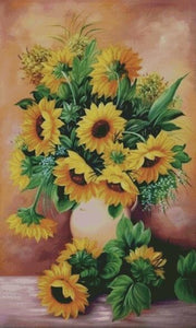 Bouquet of Sunflowers DIY 5D Diamond Painting Cross Stitch