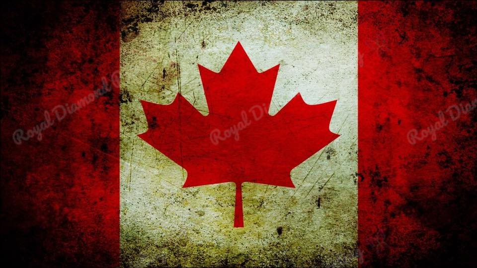 ** UPDATED ** Canadian Flag DIY 5D Diamond Painting Cross Stitch Patriotic