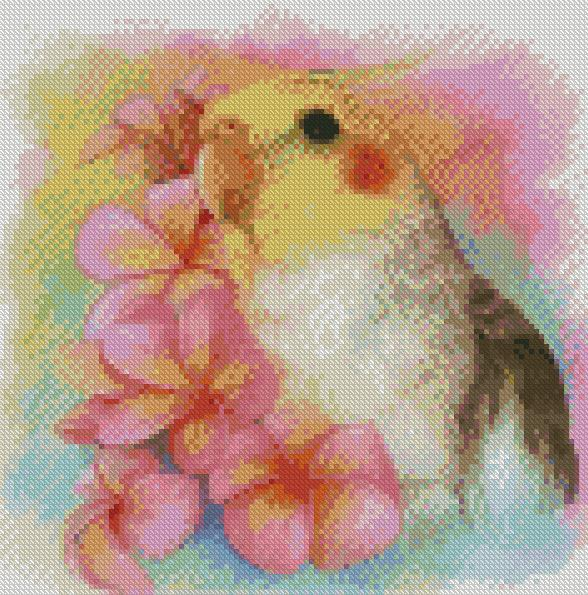 Cockatiel DIY 5D Diamond Painting Cross Stitch