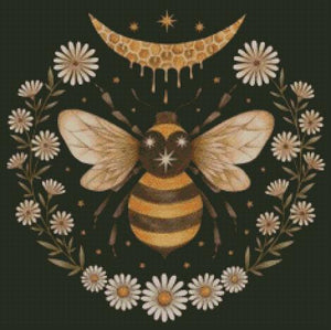 Honey Bee #2 DIY 5D Diamond Painting Cross Stitch