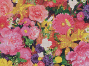 Flower #12 DIY 5D Diamond Painting Cross Stitch