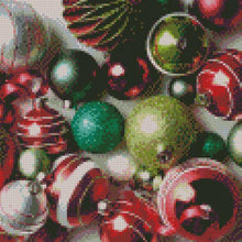 ** UPDATED ** Ornaments #1 DIY 5D Diamond Painting Cross Stitch