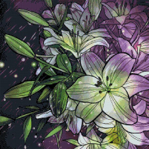 Lilies  DIY 5D Diamond Painting Cross Stitch
