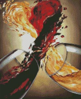 For the Love of Wine DIY 5D Diamond Painting Cross Stitch