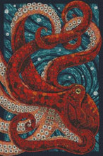 Octopus Stained Glass DIY 5D Diamond Painting Cross Stitch Animal