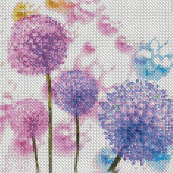Colorful Wishes DIY 5D Diamond Painting Cross Stitch