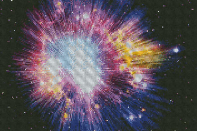 ** UPDATED ** Star Burst 5D Diamond Painting Cross Stitch