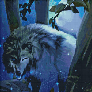Stalking Prey DIY 5D Diamond Painting Cross Stitch