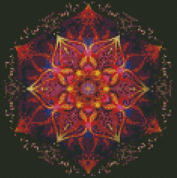 Mandala #14 DIY 5D Diamond Painting Cross Stitch
