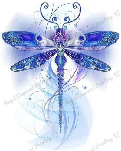 Wispy Dragonfly DIY 5D Diamond Painting Cross Stitch