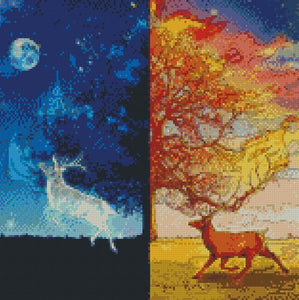 Dusk to Night DIY 5D Diamond Painting Cross Stitch