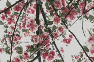 Cherry Blossoms #7 DIY 5D Diamond Painting Cross Stitch