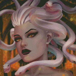 Medusa #2 DIY 5D Diamond Painting Cross Stitch