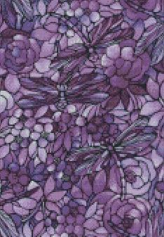 ** UPDATED ** Stained Glass Flower #1 DIY 5D Diamond Painting Cross Stitch