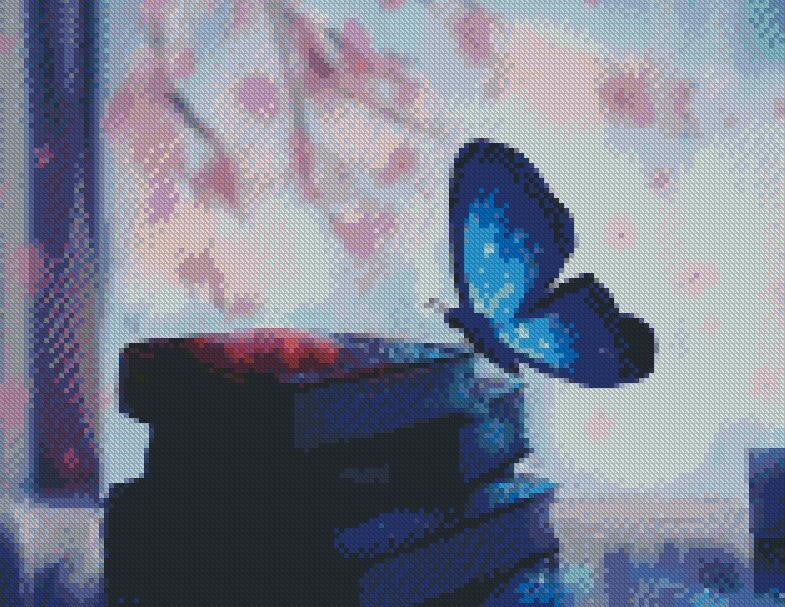 Knowledge of a Butterfly DIY 5D Diamond Painting Cross Stitch