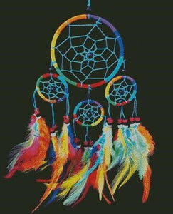 Rainbow Dreamcatcher DIY 5D Diamond Painting Cross Stitch