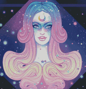 Seer of the Universe DIY 5D Diamond Painting Cross Stitch