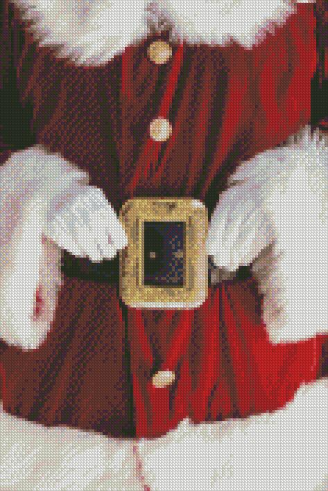 Santa is Ready DIY 5D Diamond Painting Cross Stitch