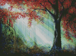 Enchanted Forest DIY 5D Diamond Painting Cross Stitch