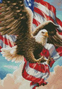 American Eagle #3 DIY 5D Diamond Painting Cross Stitch