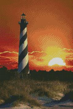 Lighthouse #2 DIY 5D Diamond Painting Cross Stitch