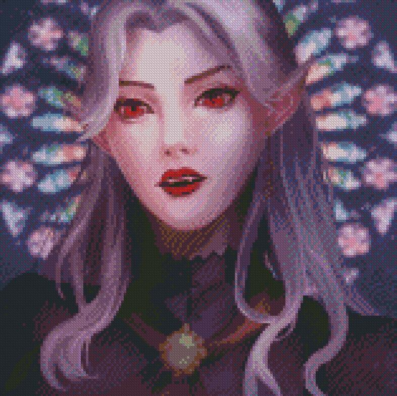 Madame Claudia DIY 5D Diamond Painting Cross Stitch