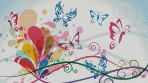 Butterfly Flutters DIY 5D Diamond Painting Cross Stitch